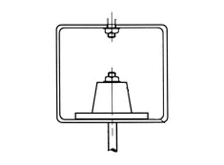 TEK Acoustic OM 2 - Neoprene Hangers