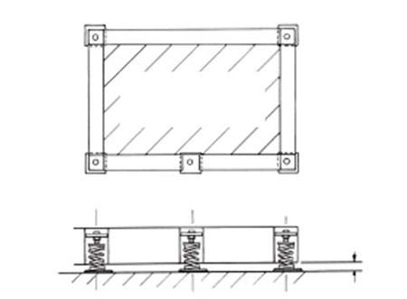 TEK Acoustic TIB 1 - Inertia Bases