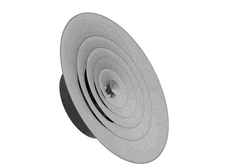 TEK Diffuser CDG 2 - Circular Diffuser - CDG