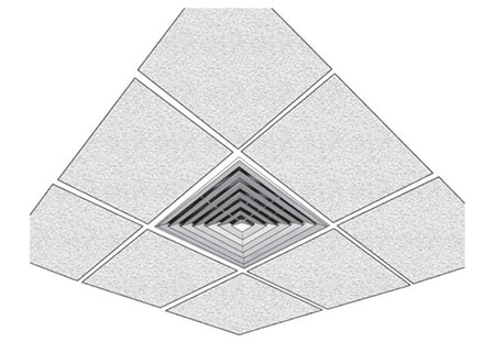 TEK Diffuser LFD 2 - Louvre Face Ceiling Diffuser