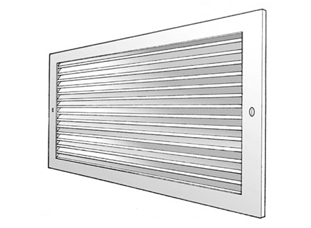 TEK Grille SEGO 2 - Sidewall Extract Grille - SEGO