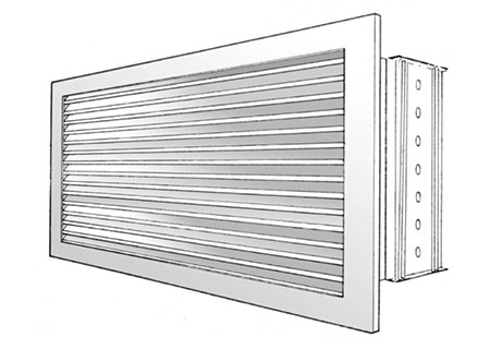 TEK Grille SEGO 3 - Sidewall Extract Grille - SEGO