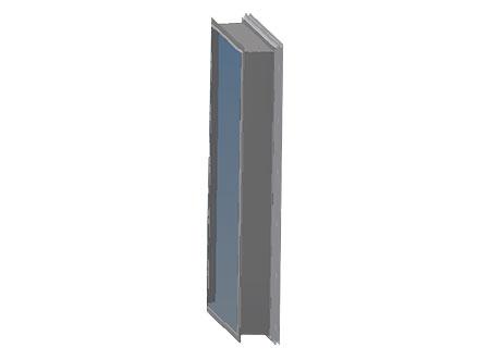 TEK Natural WU 2 - TEK Natural ventilation wall vent