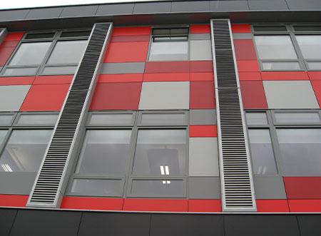 TEK Natural WU 3 - TEK Natural ventilation wall vent